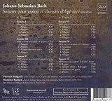 Bach: Sonatas for Violin & Harp (Sonates pour violon et clavecin oblige) 画像