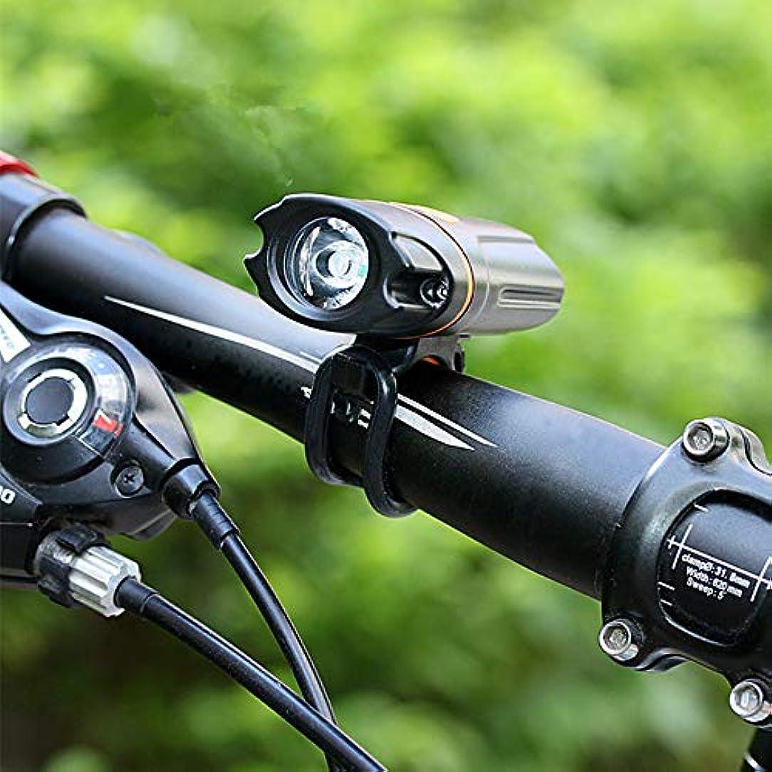 メイドほのか減少RaiFu ヘッドライト 自転車 乗馬 USB充電式 ライト 防水 LEDバイク ナイト ライディング ライト