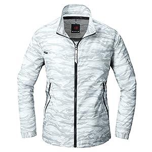 BURTLE バートル エアークラフトジャケット AC1011 58 カモフラホワイト 3L 春夏用