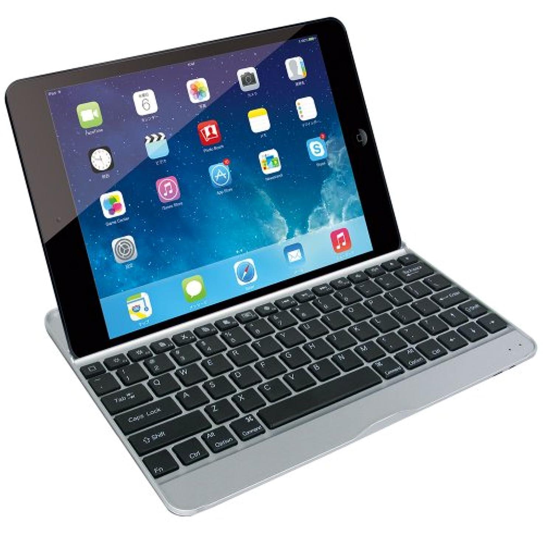 掃くマラソン哲学博士マグレックス Bluetooth キーボード ウルトラスリムケース for iPad Air ( ブラック  / アルミボディ / MicroUSB ) MKA1100-BK