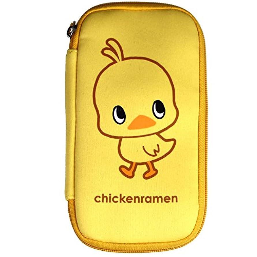 放つ伝染性の聡明チキンラーメン(Chikin Ramen) ひよこちゃん スマートライドポーチ キイロ WWW-L-CHIKIN-P イエロー