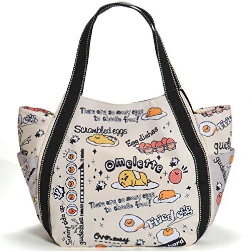【B8-2】 ぐでたま グッズ Hello Kitty ハローキティ マザーズバッグ トートバッグ マザーズトートバッグ (93001)
