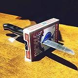 Knife thru Metal/ナイフスルーデック マジックトリック イリュージョンギミック小道具を閉じる
