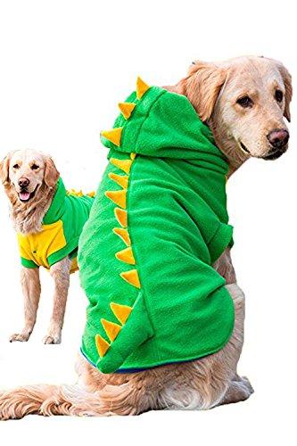 baby-mine (ベイビーマイン) ペット用 恐竜コスチューム 大型犬服 ラブラドール ゴールデンレトリバー (7XL)