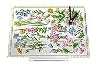 置時計 Desk Clock Nostalgic Lindner flowers Retro Decoration Nostalgic