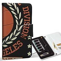 スマコレ ploom TECH プルームテック 専用 レザーケース 手帳型 タバコ ケース カバー 合皮 ケース カバー 収納 プルームケース デザイン 革 バスケ ボール 英語 012256