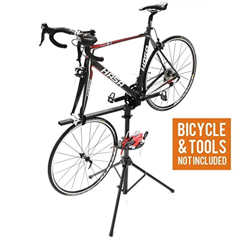 慈善原子予定VENZO Workstand Bike Bicycle Race Team Repair Stand by Venzo