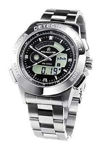 ガイガーカウンター腕時計 (ステンレス製ベルト) POLIMASTER PM1208M 放射線測定器