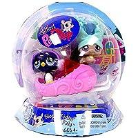 Littlest Pet Shop Exclusive Chilliest Pet Pair Slope Ridin' Pets (Chinchilla and Penguin) by Hasbro [並行輸入品]
