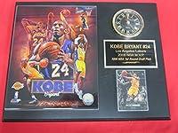 Kobe Bryant Los Angeles Lakersコレクター時計プラークW / 8x 10マルチイメージ写真とカード