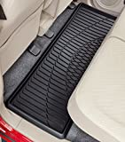 BONFORM ( ボンフォーム ) カーマット 防水バケットマット 3Dグランツ 軽自動車後部座席用ロング (40X115cm) ブラック 6395-04BK