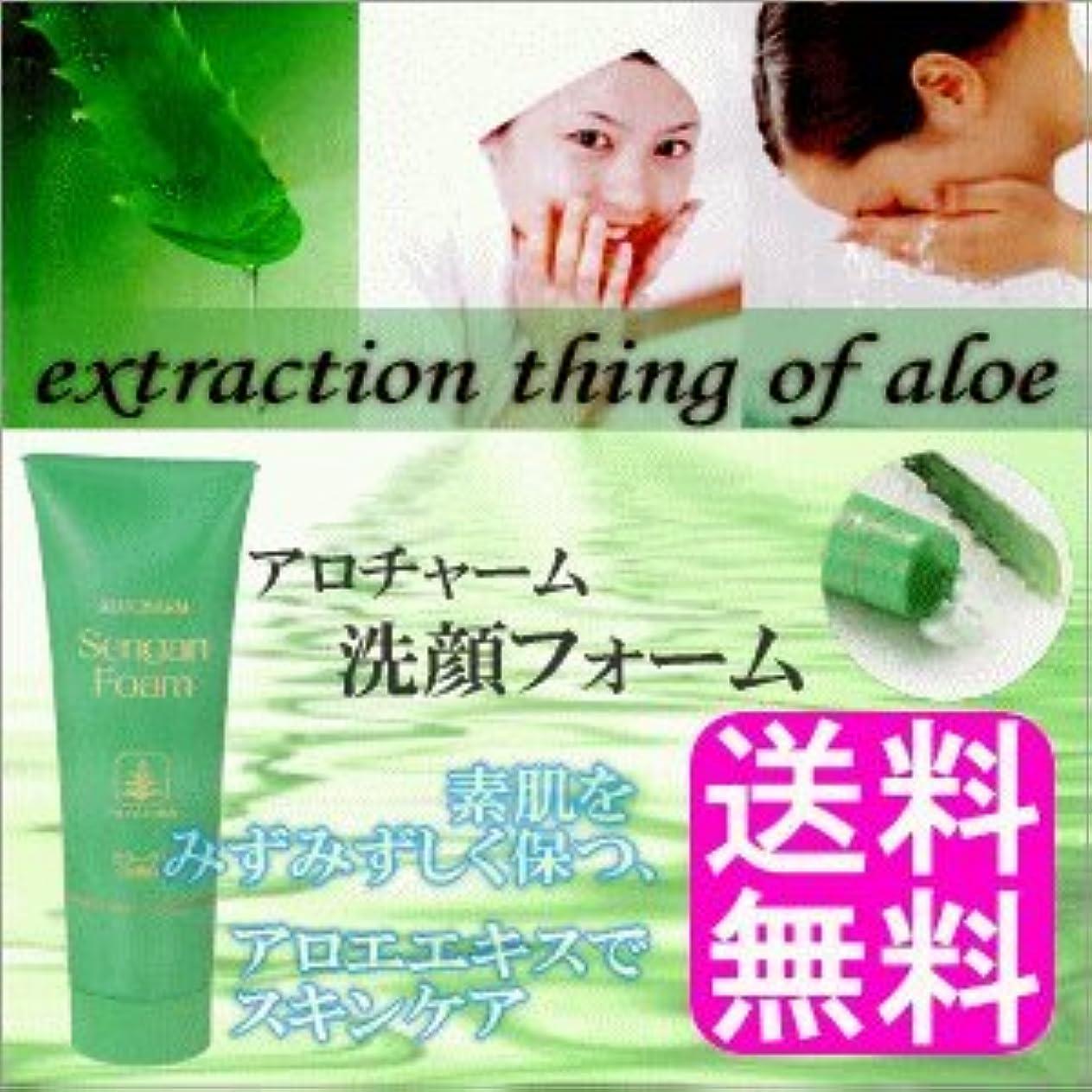交渉するぶどう持っているアロチャーム 洗顔フォーム
