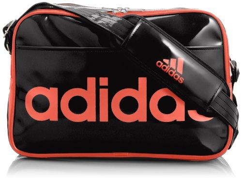 [アディダス] adidas エナメルバッグ M MIH71 M33206 (ブラック)