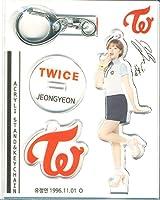 韓国 K-POP ☆TWICE トゥワイス JEONGYEON ジョンヨン☆アクリル スタンドキーホルダー