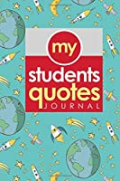 My Students' Quotes Journal