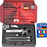Premiala Awesome Meat Injector with 3 Needles - Creates The Juiciest Roasts and BBQ Ever! 100% Food-Grade Materials + Cleaning Brushes = Guaranteed to Keep Your Family Safe! AU Seller!