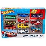 Hot wheels 10 Car Pack (Styles May Vary)