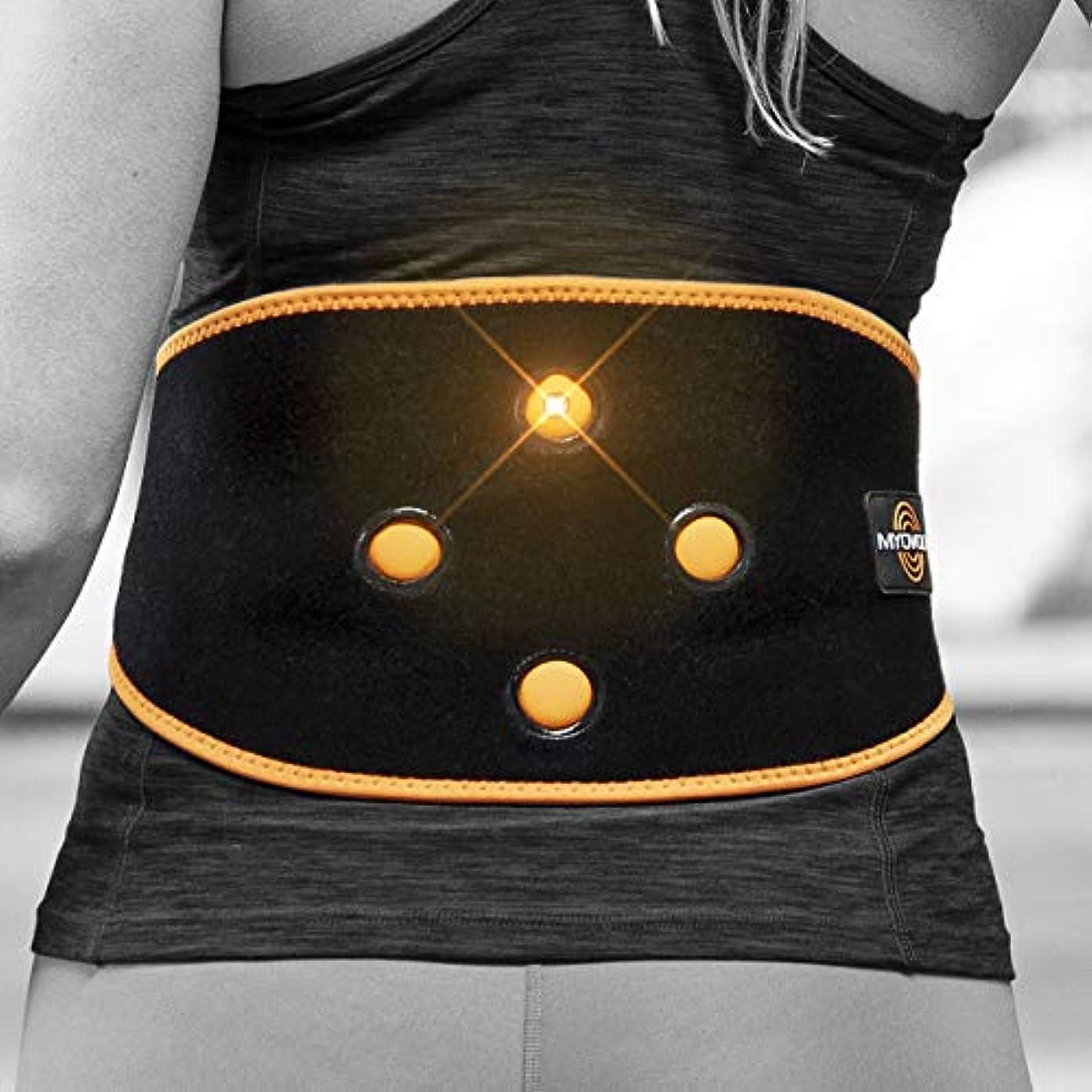 苦しめる日記球状Myovolt Wearable Massage Technology for Back & CORE/Vibration Therapy Device/筋肉こわばりが気になる方へ リラックス 141[並行輸入]