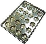 千代田金属 店舗用オーブンサイズ シェル型 20取 通常シリコン加工 S-SHL20-ST