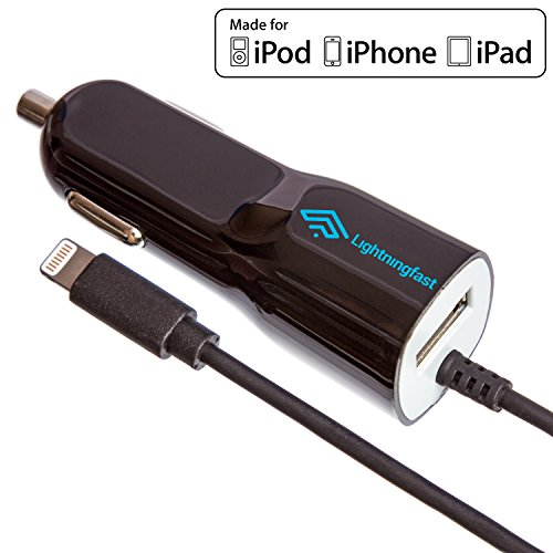 Apple認証ライトニングカーチャージャー - iPhone...