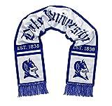 DukeブルーDevilsスカーフ–Duke University代替ホワイトWoven