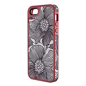 Speck Products iPhone5対応 FabShell ケース フレッシュブルームコーラルピンク/ブラック SPK-FABSHELL-IP5-FB SPK-A0764