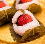 バレンタイン いちご桜餅 10個入り道明寺こしあん/良平堂