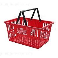 レジかご 買い物かご ブックラバーズ BOOK LOVERS マーケットバスケットSサイズ レッド 赤 小さめ ミニサイズ
