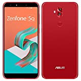 ASUS(エイスース)ZenFone 5Q ルージュレッド Android 7.1.1・ディスプレイ 6型ワイド ・メモリ/ストレージ:4GB/64GB [ZC600KL-RD64S4] ZC600KL-RD64S4