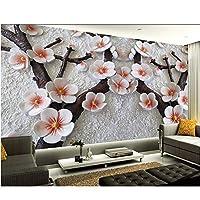 Wuyyii カスタム3D壁紙パリ市夜テレビ背景リビングルームの寝室の壁紙家の装飾-350X250Cm