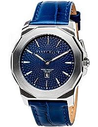 [ペリー・エリス]Perry Ellis 腕時計 DECAGON(デカゴン) クォーツ 42 mmケース 本革バンド 08001-01 メンズ 【正規輸入品】
