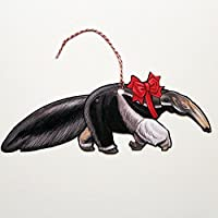 Set of 3 Anteater Jointed Gift Tag or Christmas Ornaments [並行輸入品]