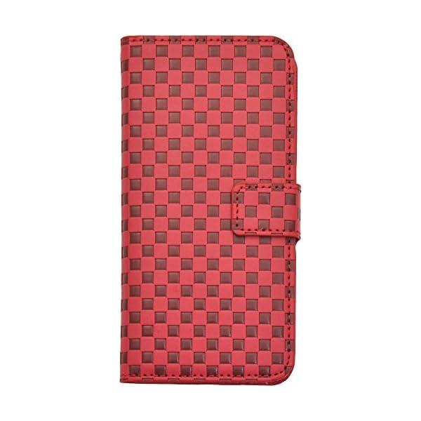 PLATA iPhone6 ケース 手帳型 市松...の商品画像