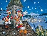 ジグソーパズル プチ2 ディズニー 500スモールピース スノー ホワイト タウン (16.5cm×21.5cm、対応パネル:プチ2専用)