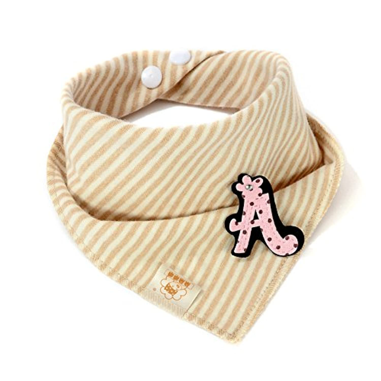 文字&ピンクbaby-girl-boys-kids-cotton-triangle-head-scarf-bandana-bibs-saliva-towel-dribblearf-bandana-bibs-saliva-towel-dribble-scarf-bandana-bibs-saliva-towel-dribble