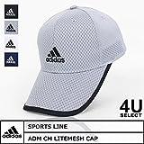 adidas ベルクロ (アディダス) ADIDAS ADM CM LITEMESH CAP メッシュキャップ 帽子 吸湿速乾 6パネル ベルクロ ad-100711402