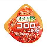 UHA味覚糖 オメガ3 コロロ 梅 52g