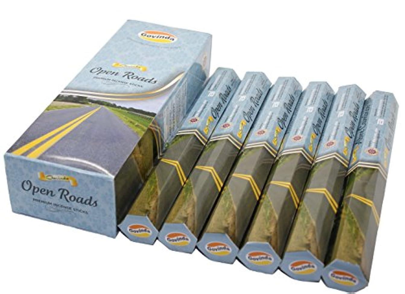 アクティブ飢えたエピソードGovinda ® Incense – Open Roads – 120 Incense Sticks、プレミアムIncense、Masalaコーティング
