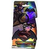 映画 Batman v Superman: Dawn of Justice(バットマン vs スーパーマン ジャスティスの誕生)Logo Colored Pewter Keyring(キーホルダー) [並行輸入品]