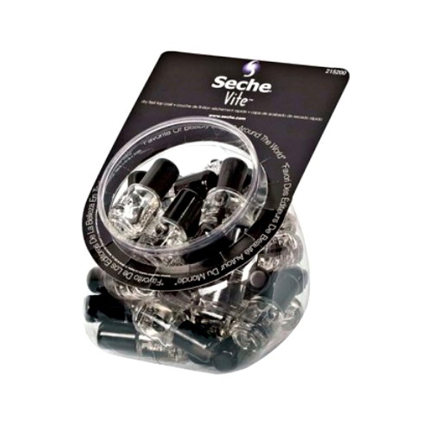 航空便スケッチ信頼性SECHE VITE Dry Fast Top Coat MINI Display Bucket Set 36 Pieces (並行輸入品)