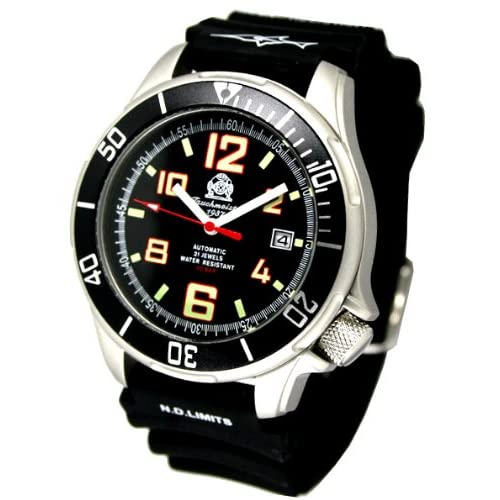 [トーチマイスター1937]Tauchmeister1937 腕時計 ドイツ製 ドイツ海軍ダイバーズ深海200M防水自動巻 T0207 (並行輸入品)