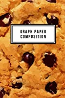 """Graph Paper Composition: Graph Paper 6"""" x 9"""" Cookies Quad Ruled 4x4,Grid Paper for school student,office,kids Notebooks"""