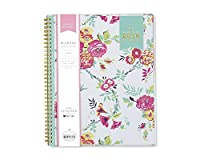 "Day Designer for Blue Sky 2018 Weekly & Monthly Planner,Twin-Wire Binding,8.5"" x 11"",Peyton White [並行輸入品]"