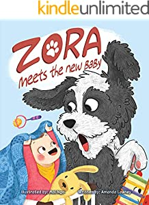 Zora Meets The New Baby (Zora The Water Dog Book 2) (English Edition)