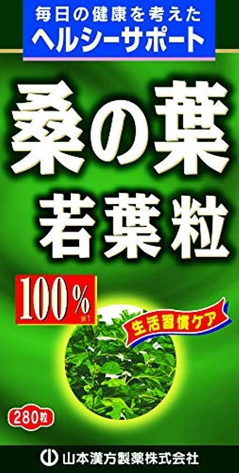 読みやすい緩めるズームインする桑の葉粒100% 280粒