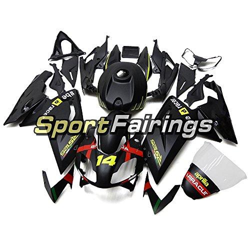 Sportfairings バイク外装パーツ 適応モデル グリーンマットブラックインジェクション ABS フェアリングキットアプリリア RS4 125 RS125 2006 - 2011 年 06 07 08 09 10 11 オートバイボディキット