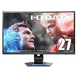 IO-DATA ゲーミング液晶ディスプレイ LCD-GC271XCVB (27インチ/フルHD/湾曲パネル/5年保証)