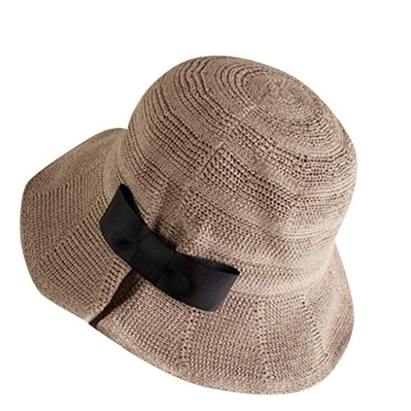 本質的ではない移植バイソンサンバイザー 帽子 レディース 大きいサイズ 日よけ つば広 紫外線対策 小顔効果抜群 春夏 お出かけ用 ビーチハット 蝶結び ハット レディース 日除け帽子 紫外線対策 キャップ 漁師の帽子 漁師キャップ ROSE ROMAN