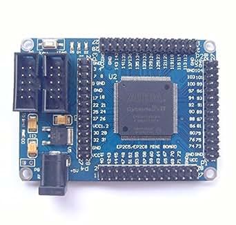 [UMKTOKYO] ALTERA FPGA Cyclone IIのEP2C5T144最小システム開発ボード ALTERA FPGA CycloneII EP2C5T144 Mini Development Board Minimum System Board for Learning