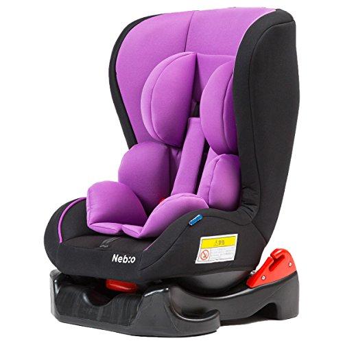 【新生児~4歳頃までのチャイルドシート 車内ゆったりコンパクトサイズ neb:o】(欧州安全基準 E...